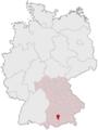 Lage des Landkreises Starnberg in Deutschland.png