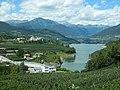 Lago e diga di Santa Giustina - Cles-Dermulo TN Italia.JPG