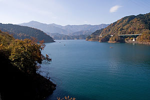 Water supply and sanitation in Japan - Lake Miyagase, a source of drinking water for Tokyo and Yokohama