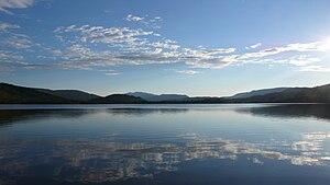 Rindal - Lake Søvatnet near Søvassli
