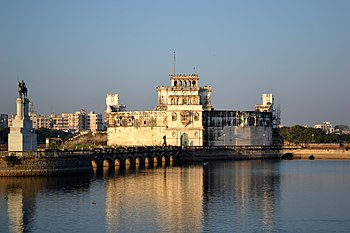 The Archaeological Museum of Jamnagar also known as Lakhota Lake Museum