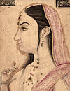 Lal Kunwar, by Indian School of the 18th century.jpg
