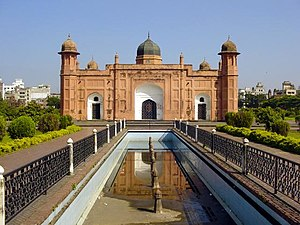 Lalbagh Fort - A view of the Lalbagh Fort