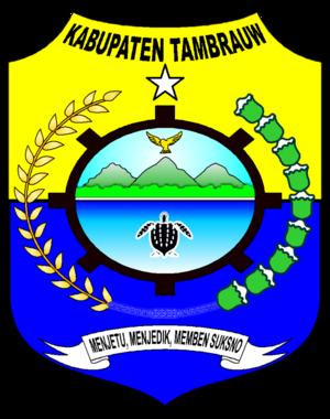 Tambrauw Regency - Image: Lambang Kabupaten Tambrauw, Papua Barat