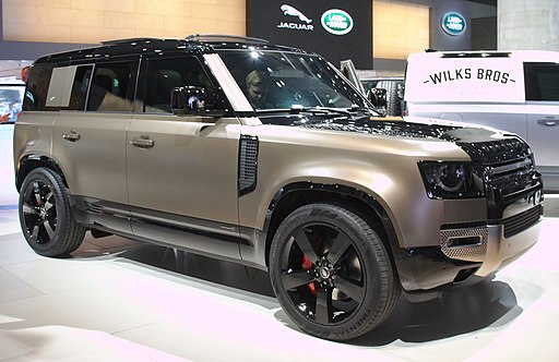 Land Rover Defender at IAA 2019 IMG 0646