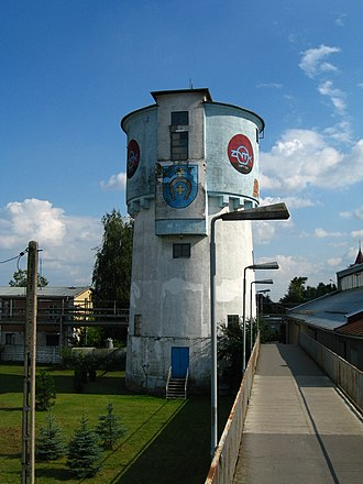 Łapy - The water tower