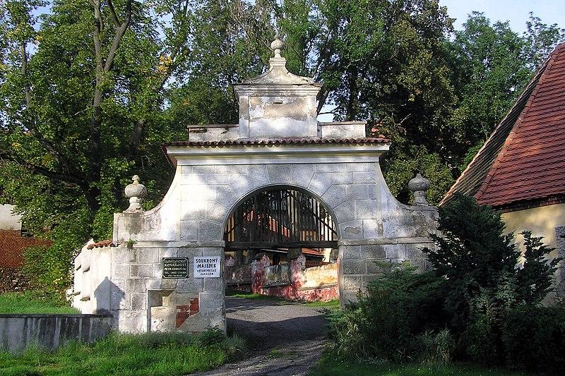 zámek Lčovice