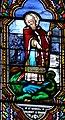 Le Bugue - Église Saint-Sulpice - Vitrail de saint Marcel de Paris -03.jpg