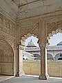 Le Khas Mahal (Fort Rouge d'Agra) (8514213828).jpg