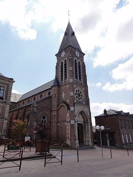 Le Nouvion-en-Thiérache (Aisne, Fr) église