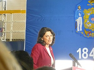 "Leah Vukmir - Vukmir speaking at a ""Women for Romney"" rally at Marquette University on September 20, 2012"