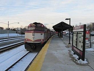 Greenbush Line - A train at Greenbush station