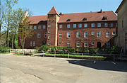 Zamek krzyżacki, obecnie siedziba sądu
