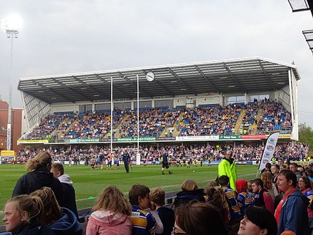 Headingley Stadium, home of the Leeds Rhinos Leeds Rhinos vs. Salford Red Devils, Headingley Stadium (21st April 2014) 013.JPG