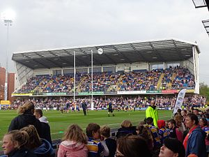 Leeds Rhinos vs. Salford Red Devils, Headingley Stadium (21st April 2014) 013