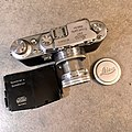 Leica IIIb 1940 with 1949 Summitar (32860282081).jpg