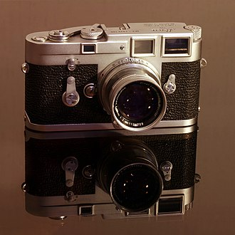 Leica M3 - Single-stroke M3 with collapsible Summicron 50mm f/2.0 lens