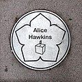 Leicester Walk of Fame- Alice Hawkins.jpg