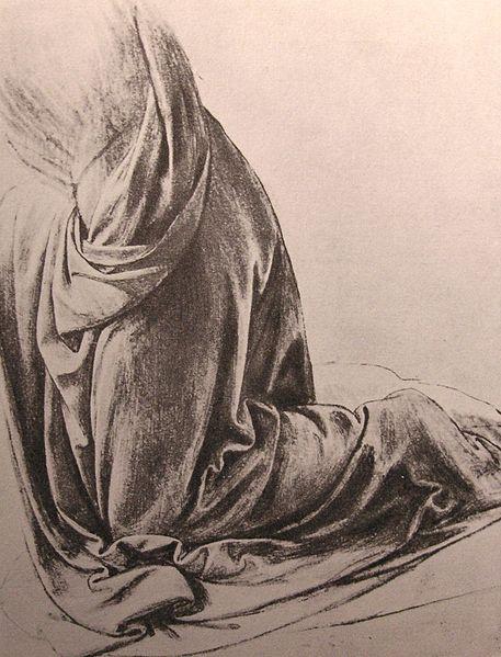 File:Leonardo study of drapery.JPG
