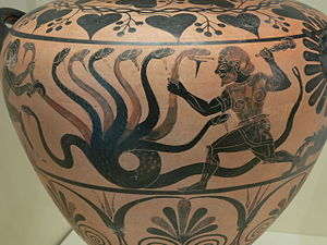 Lernaean Hydra - Image: Lernaean Hydra Getty Villa 83.AE.346