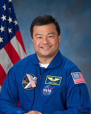 Leroy Chiao - Astronaut Leroy Chiao, mission commander June 7, 2004