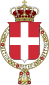 Lesser coat of arms of the Kingdom of Italy (1890).svg