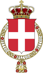Arms of the House of Savoy.