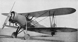 Czechoslovak Air Force - Letov Š-328 biplane, a derivative of the Š-28