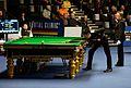 Liang Wenbo, Li Hang and Hilde Moens at Snooker German Masters (DerHexer) 2015-02-05 02.jpg