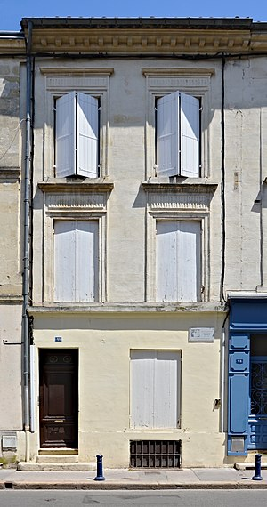 Eugène Atget - Atget's birthplace in Libourne (France)