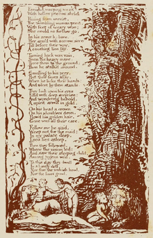 Life of William Blake (1880), Volume 2, Songs of Experience - Little Girl Lost (2).png
