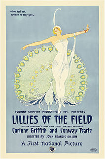 <i>Lilies of the Field</i> (1924 film) 1924 film by John Francis Dillon