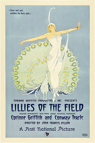 Lilies of the Field (1924 film) - Film poster