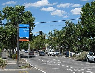 Lilydale, Victoria - Main Street (Maroondah Highway), Lilydale