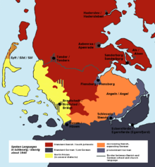 Danish Language Wikipedia - Norway language map
