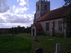 Little Banningham Church, 3rd September 2008 (6).JPG