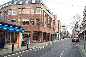 Little Clarendon Street - Little Clarendon Street looking east.