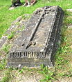 Llandyssil Churchyard. Grave of Richard Jones and his wife Catharina..jpg