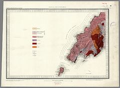 Llyn Peninsula and Bardsey Island Geological map 1850.jpg