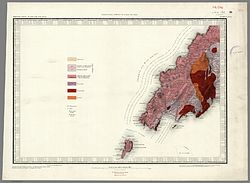1850 Geological map