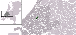 Location of Berkel en Rodenrijs