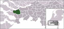 Location of Steenbergen