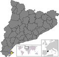 Location of Sant Jaume Enveja.png