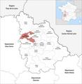 Locator map of Kanton Migné-Auxances 2019.png