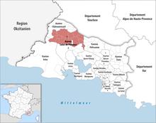 Cantones de bocas del r dano wikipedia la enciclopedia for Ada salon de provence