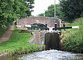 Lock and Bridge, Trent and Mersey Canal, Meaford, Staffordshire - geograph.org.uk - 555055.jpg