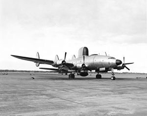 Lockheed EC-121 Warning Star - The second PO-1W prototype at NAS Barbers Point in 1952.