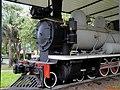 Locomotiva Phantom, popularmente chamada de Maria-fumaça, instalada na praça Francisco Schimidt, Vila Tibério em Ribeirão Preto. A locomotiva era utilizada pela Usina Amália e foi doada em 191 - panoramio (2).jpg