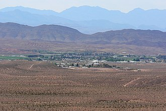 Logandale, Nevada - View of Logandale