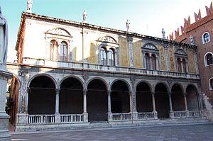 Province of Verona - Loggia del Consiglio in Verona, the provincial seat.